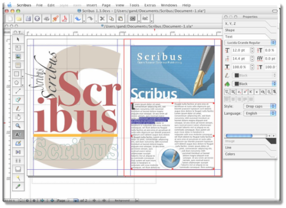 This Week's Open Source Application Is Scribus