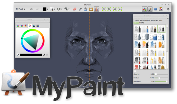 This week's Open Source application is MyPaint