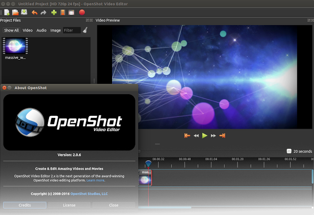 This week's open source application is OpenShot