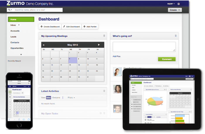This week's open source application is Zurmo CRM