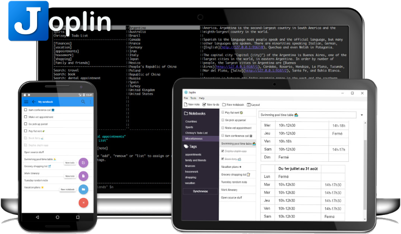 This week's open source application is Joplin