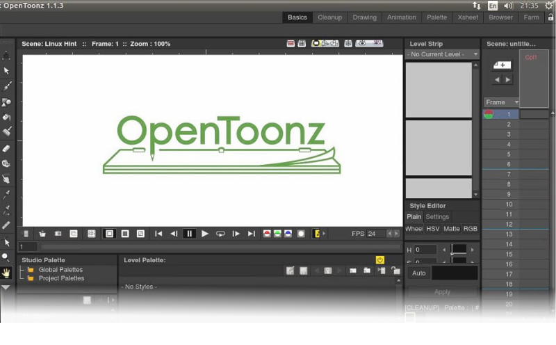 This week's open source application is OpenToonz